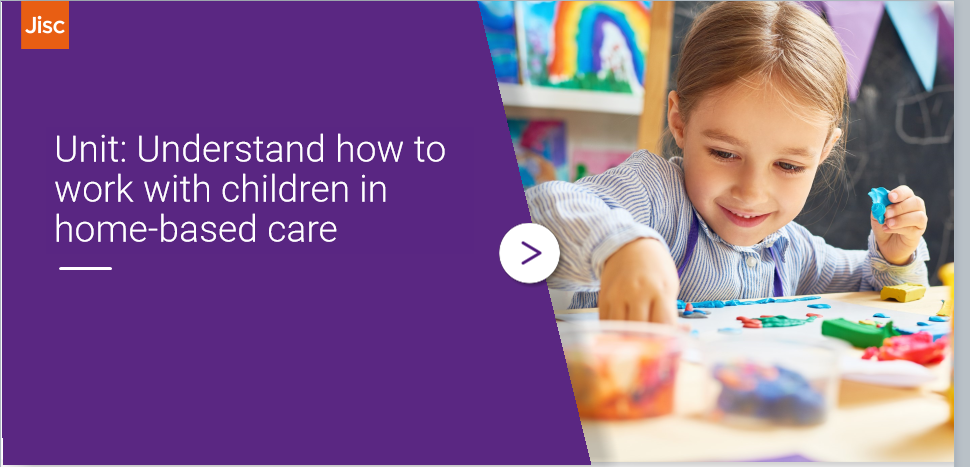 Understand how to work with children in home-based care activity thumbnail