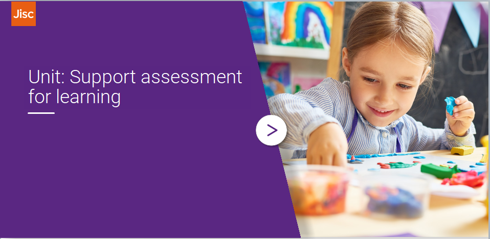 Support assessment for learning activity thumbnail