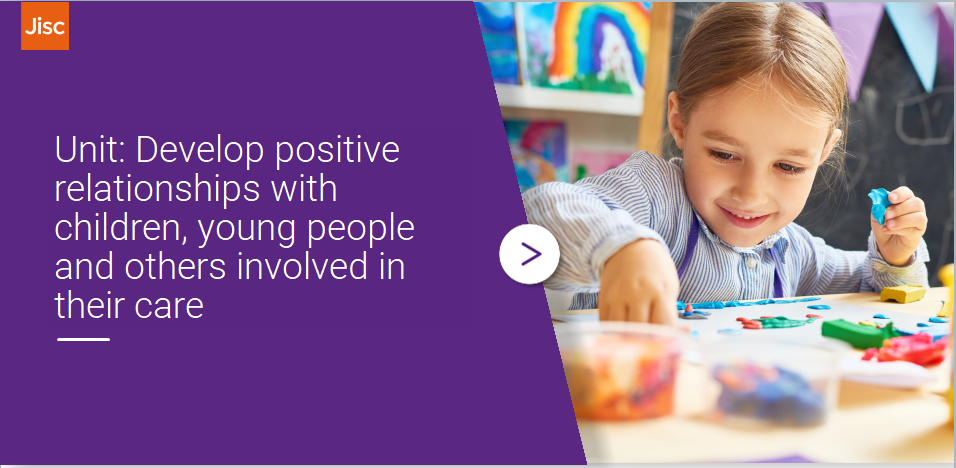 Develop positive relationships with children, young people and others involved in their care activity thumbnail