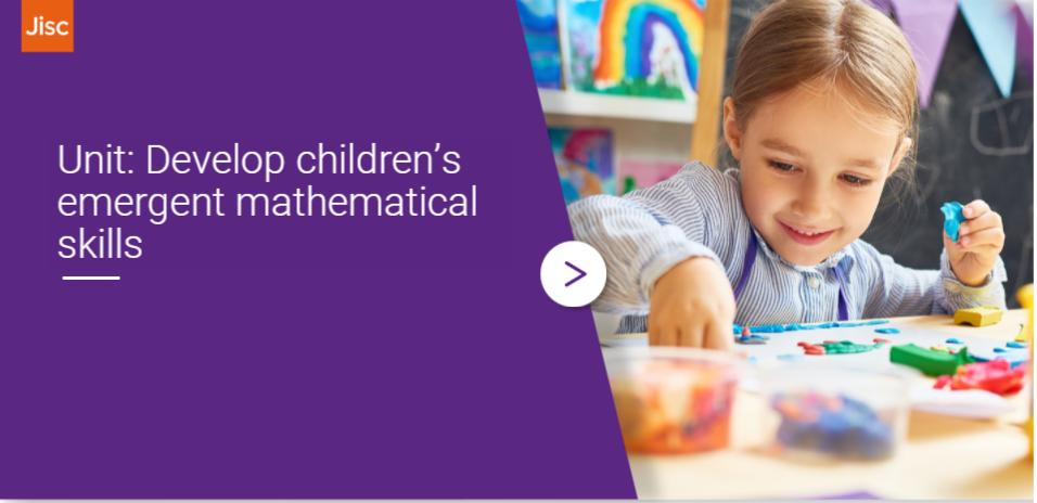 Developing children's emergent mathematical skills activity thumbnail