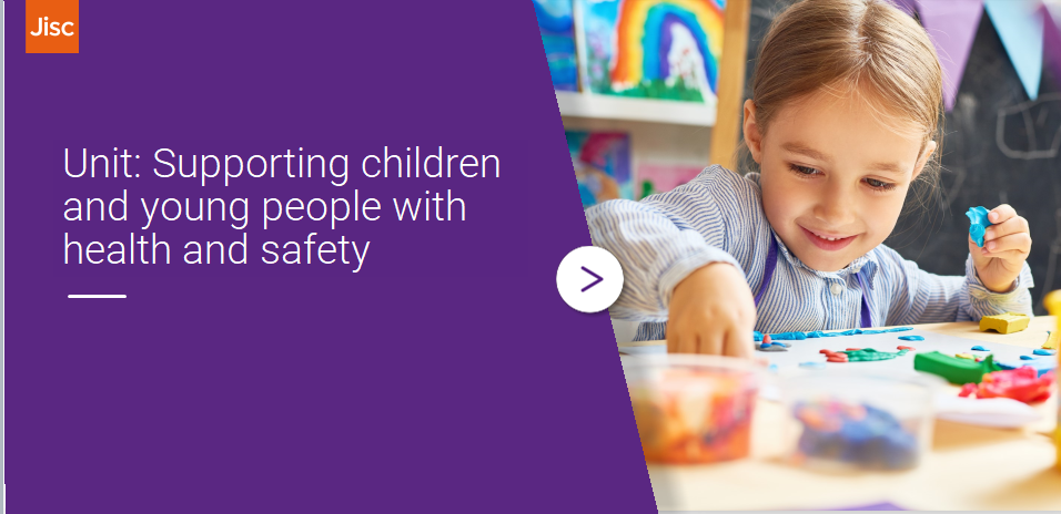 Support children and young people's health and safety activity thumbnail