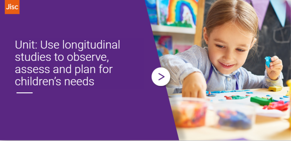 Use longitudinal studies to observe, assess and plan for children's needs activity thumbnail