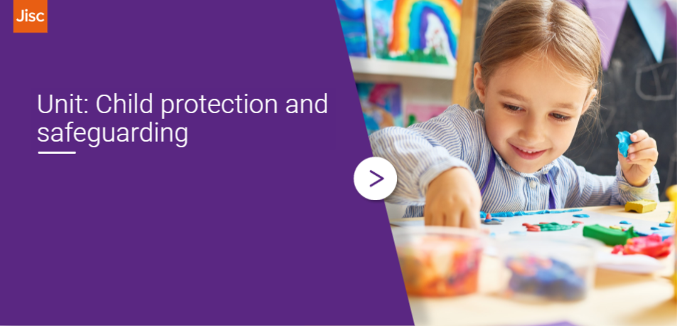 Child protection and safeguarding activity thumbnail